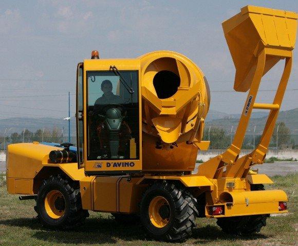 Мобильный бетонный завод  D`AVINO REVOLUTION R 40 фото