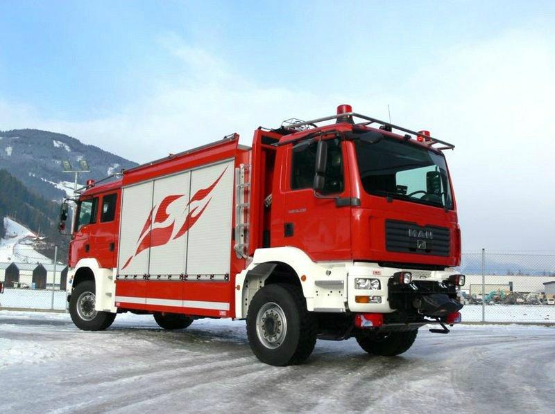 Пожарный Тяни Толкай MAN от компании EMPL фото