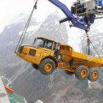 Канатная дорога для техники от швейцарских инженеров