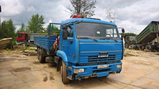 КамАЗ 65117- Fassi