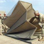 Военные ограждения системы HESCO Bastion