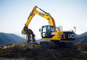 Аренда экскаватора JCB JC-200