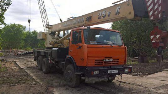 Продажа бу крана Камаз-65115-62 (КС-55713-1)