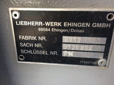 Продажа бу автокрана Liebherr UTM743 LTM1090-41