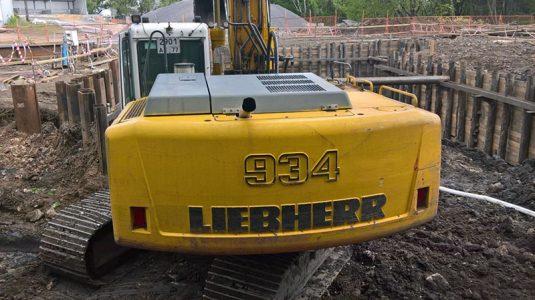 БУ Liebherr R 934