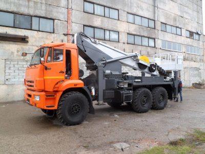 Novas-350 (36м) Камаз-43118 6×6