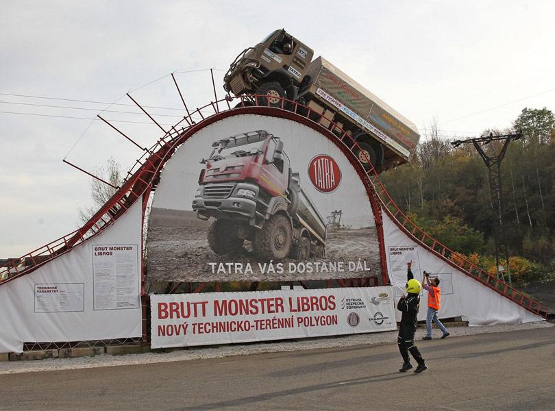 Рекорд грузовика Tatra 810